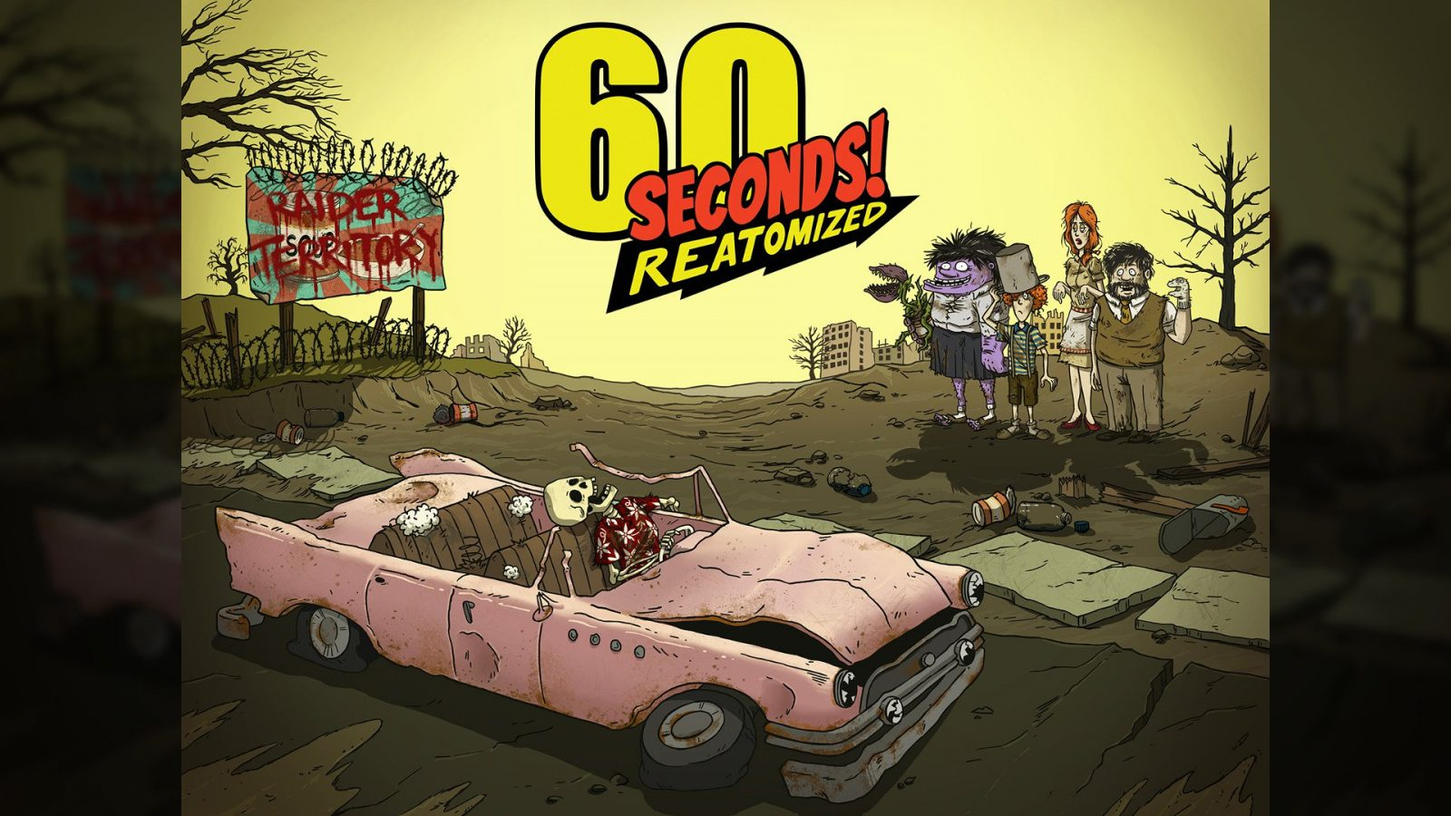 60 Seconds! Remaster '60 Seconds! Reatomized Blasts Onto Steam July 2019