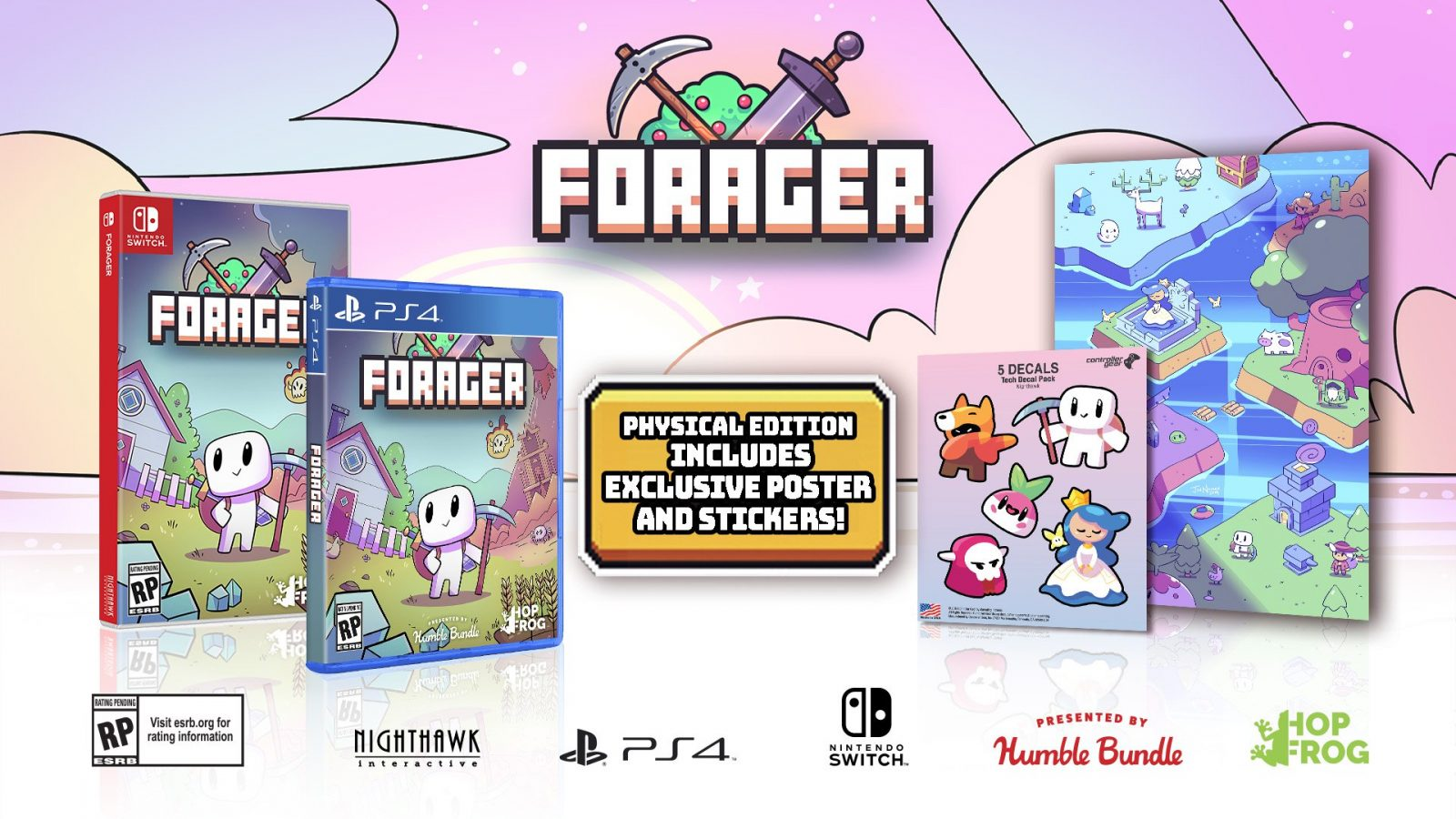 Forager Physical Release Date Set, Coming to Switch and PS4 This September