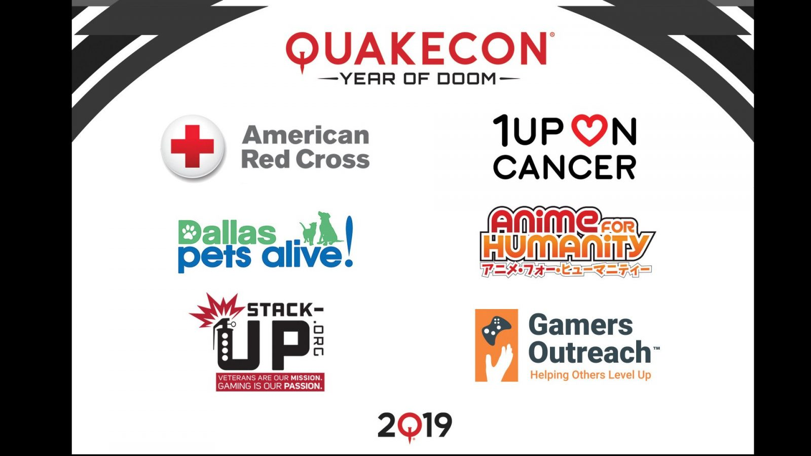 QuakeCon Teams Up with Charities To Shoot Down World Problem