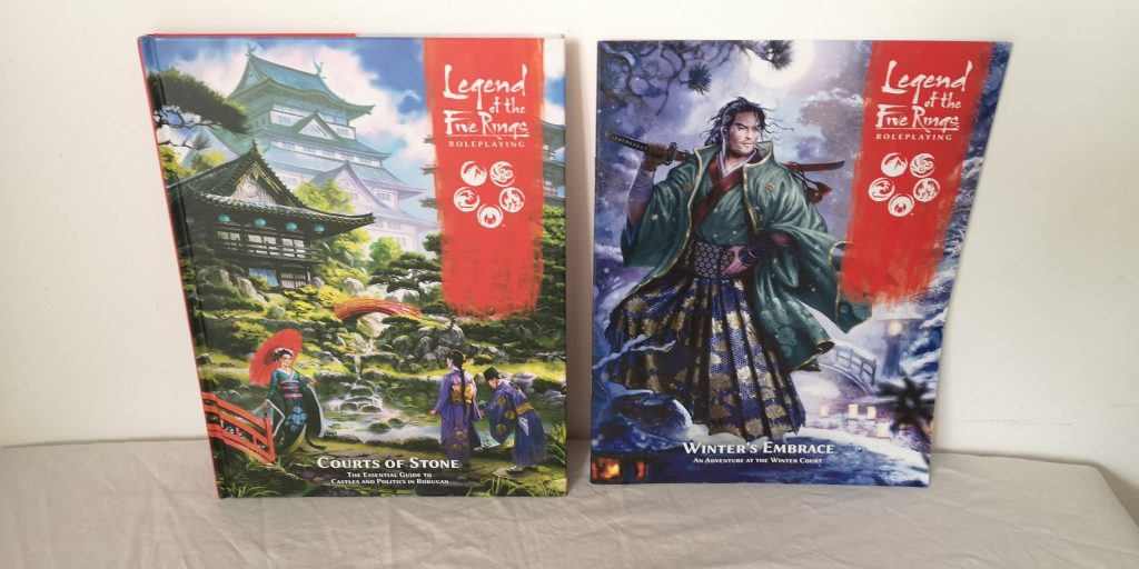L5R RPG Sourcebooks – Courts of Stone and Winter's Embrace Preview