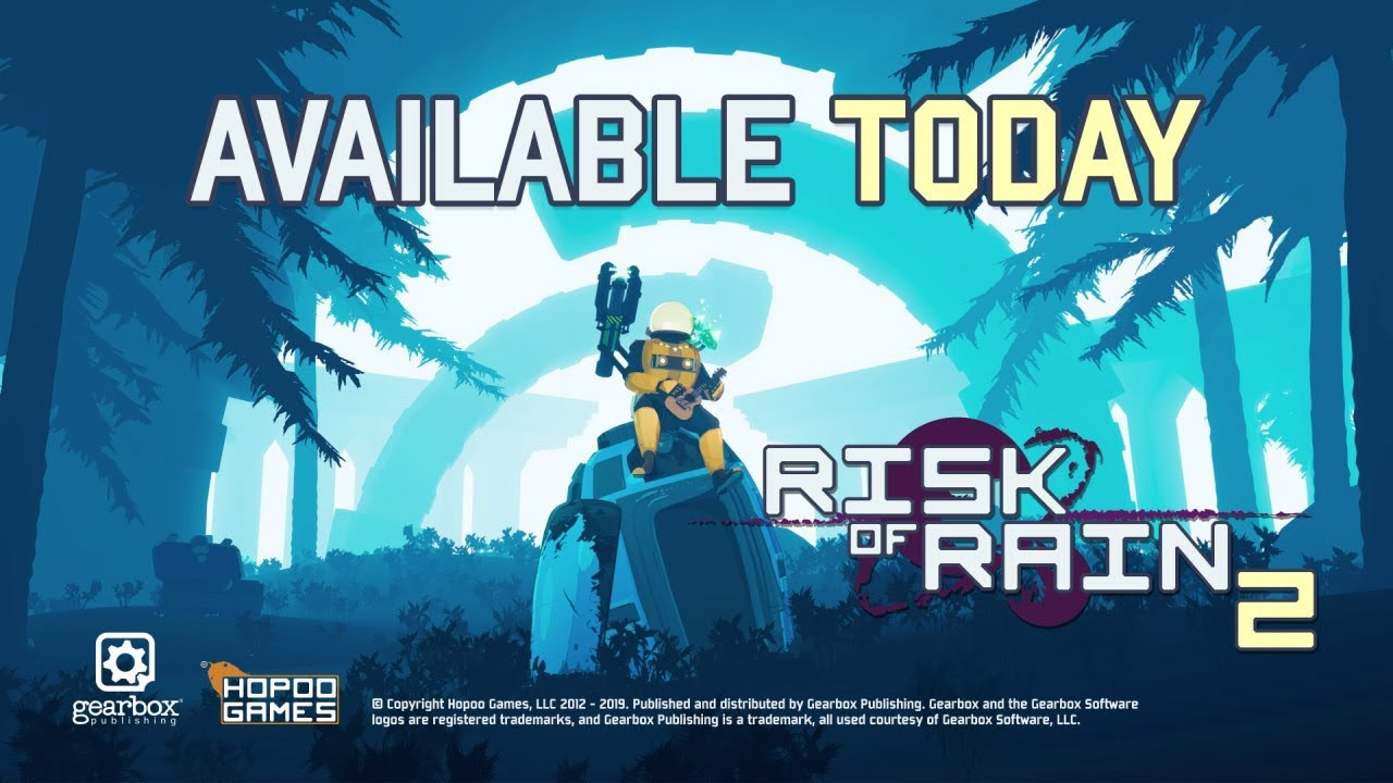 Risk of Rain 2 Now Available for Consoles