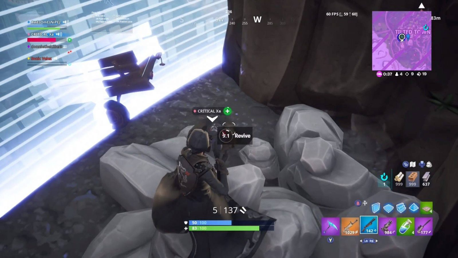 Clutch Victory Royale At Tilted Town