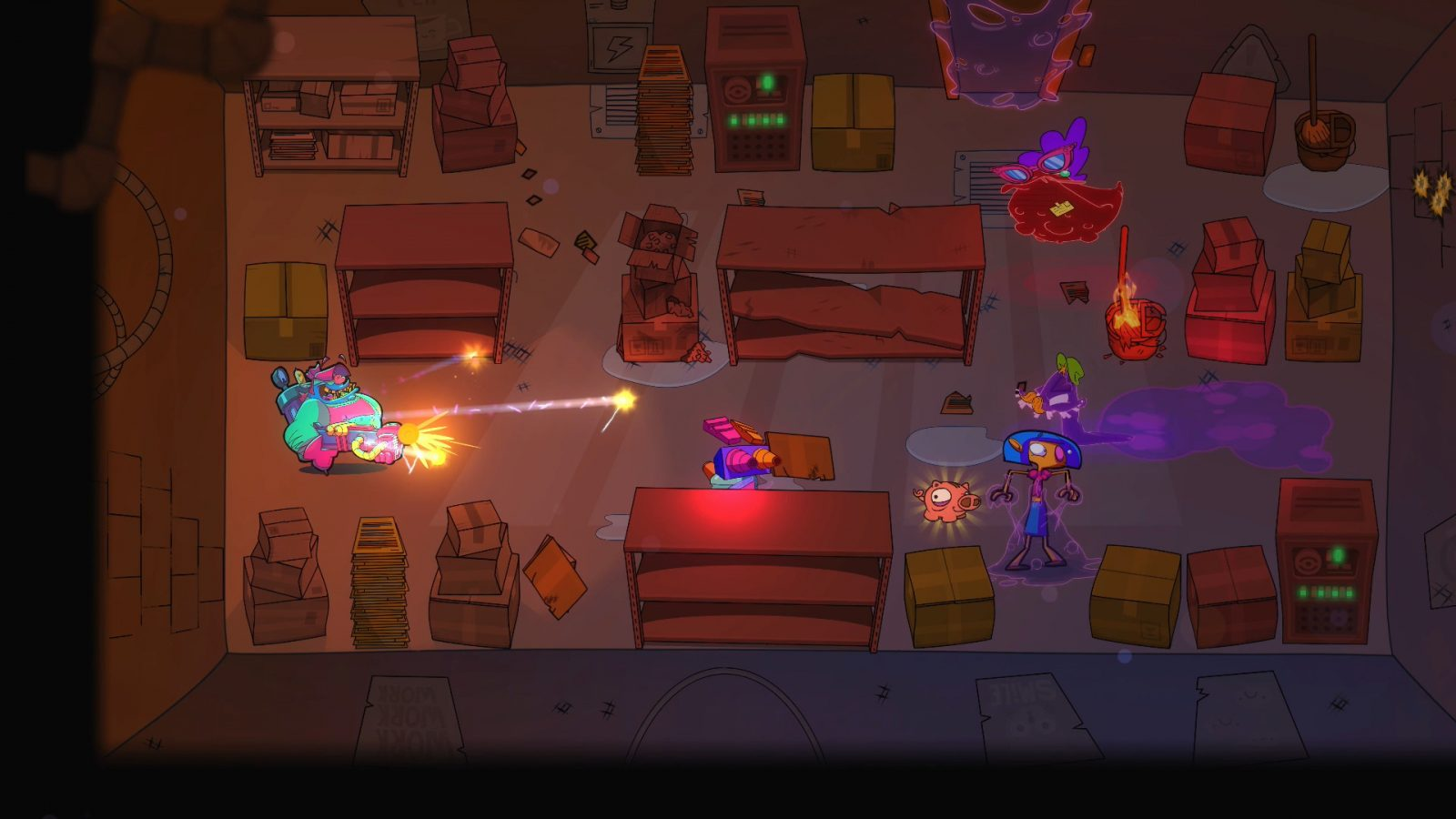 Ghostbusting Shooter Dead End Job Now Available on Apple Arcade