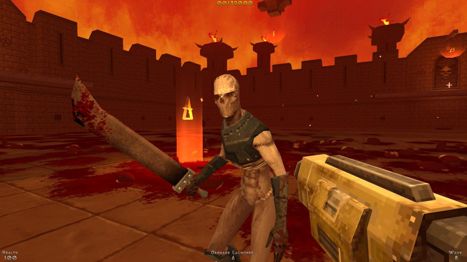 Wave-Based FPS Demon Pit Gets PC Demo Ahead of Full Release