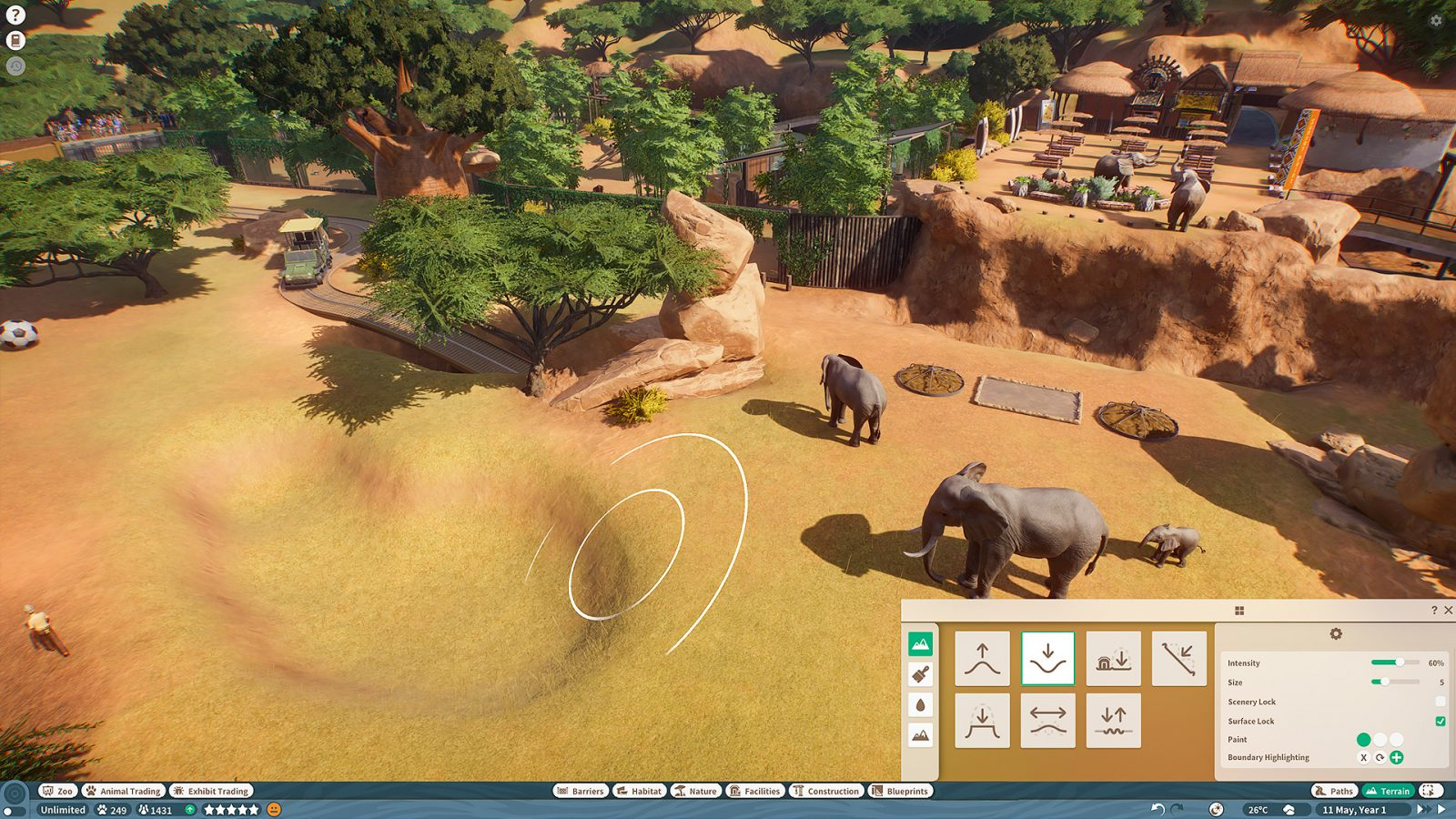 Watch 18 Minutes of Gameplay in New Planet Zoo Walkthrough