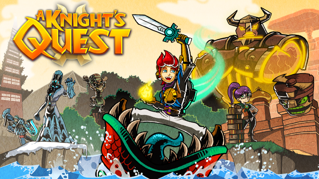 Zelda-like A Knight's Quest Coming to PC and Consoles This Fall