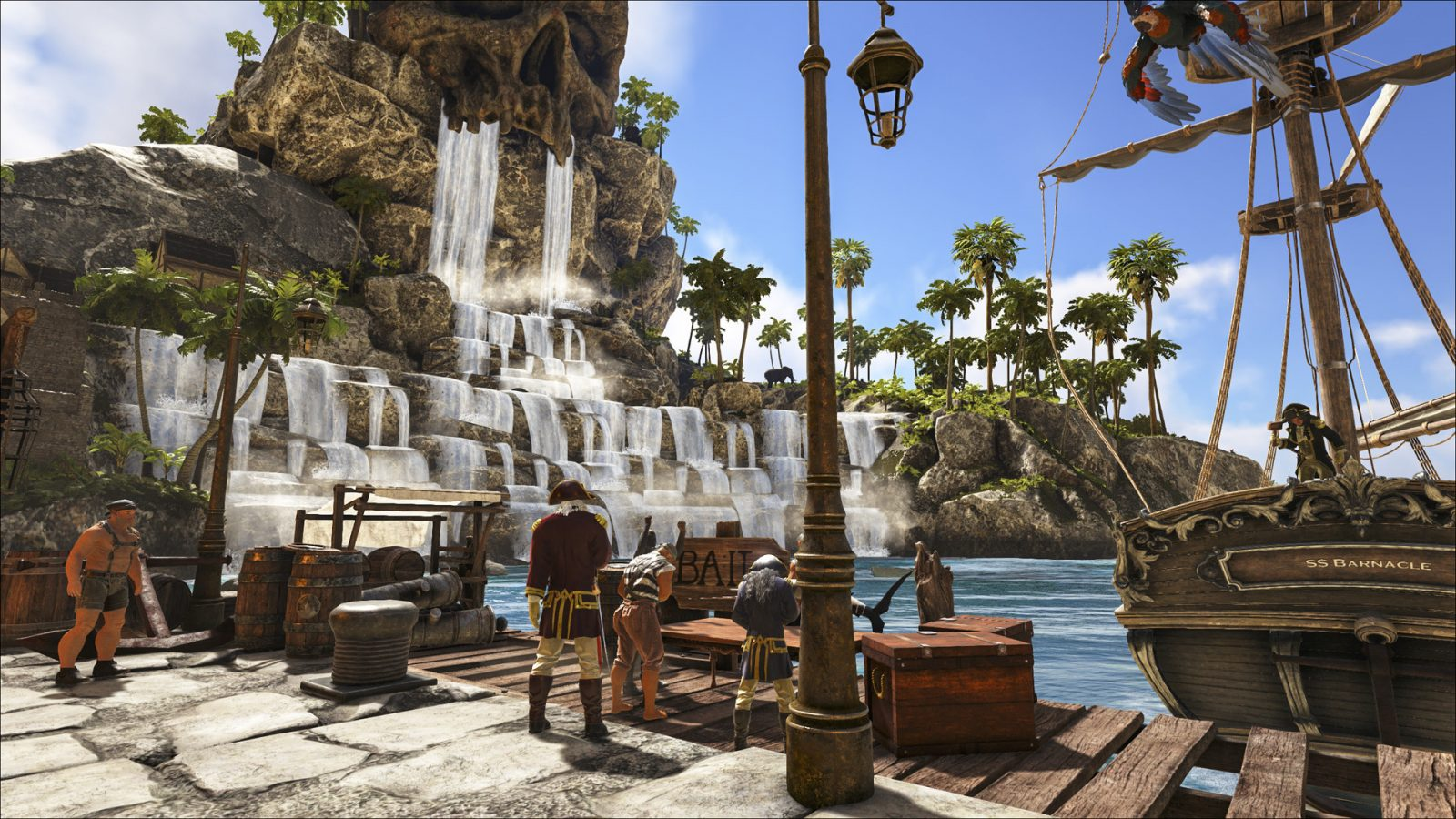 Pirate Survival MMO Atlas Launches for Xbox One via Xbox Game Preview on October 8