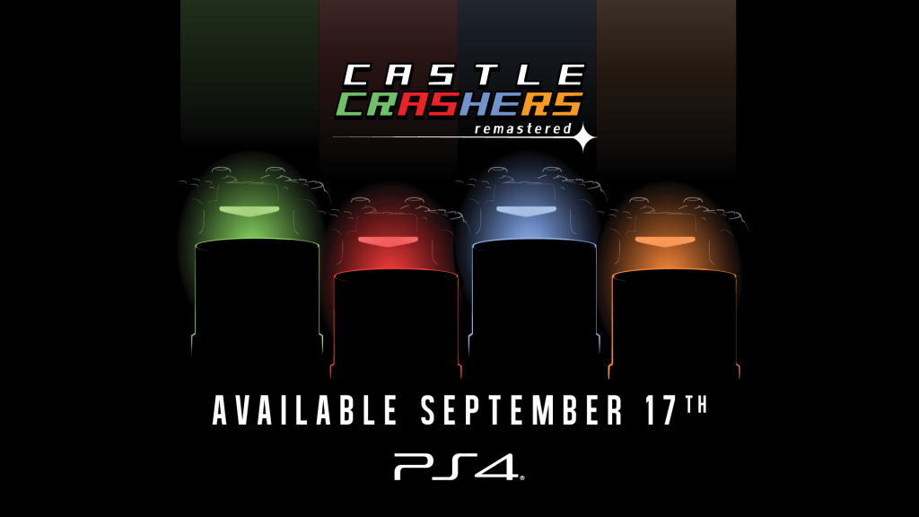 Castle Crashers Remastered Launches for PS4 on September 17