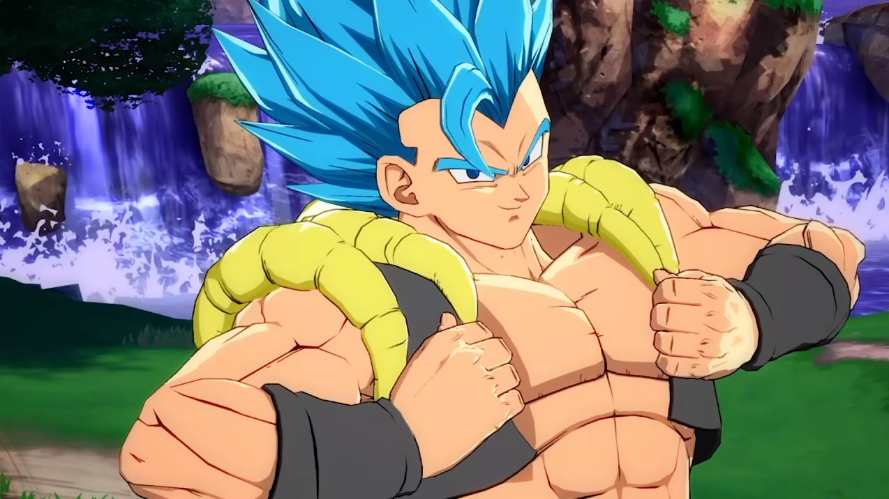 New Gameplay for Dragon Ball FighterZ DLC Character Gogeta (SSGSS)