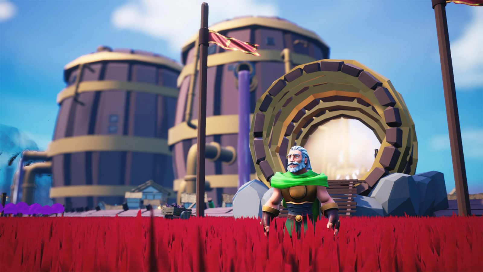 Throwback 3D Platformer Effie Shield-Surfs Its Way To PC In January