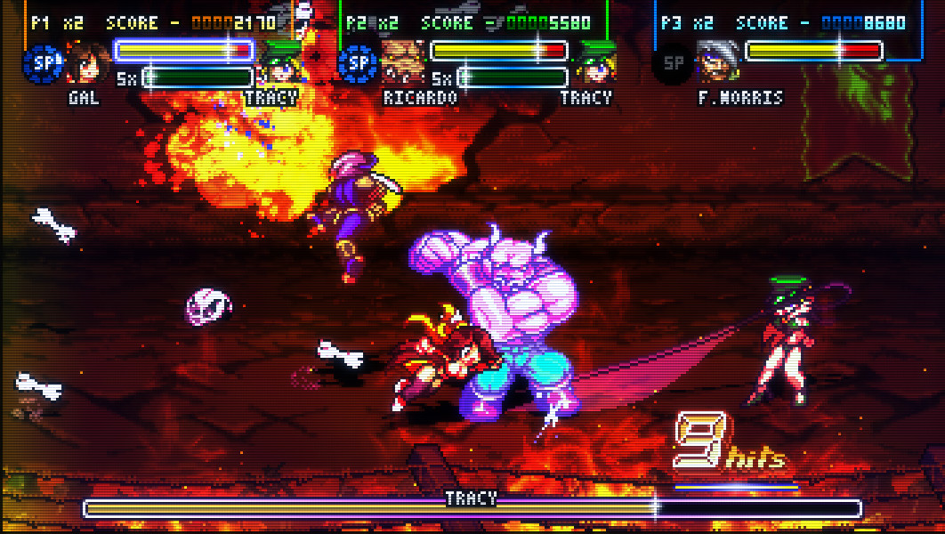 2D Brawler Fight'N Rage Heads to PS4, Xbox One, and Switch