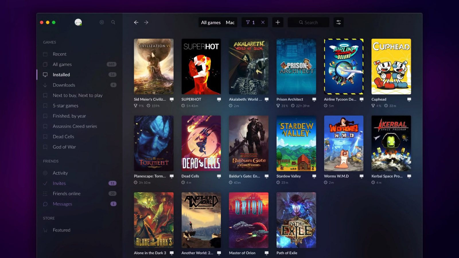 GOG Galaxy 2.0 Details Four New Features and Crazy Levels of Customization