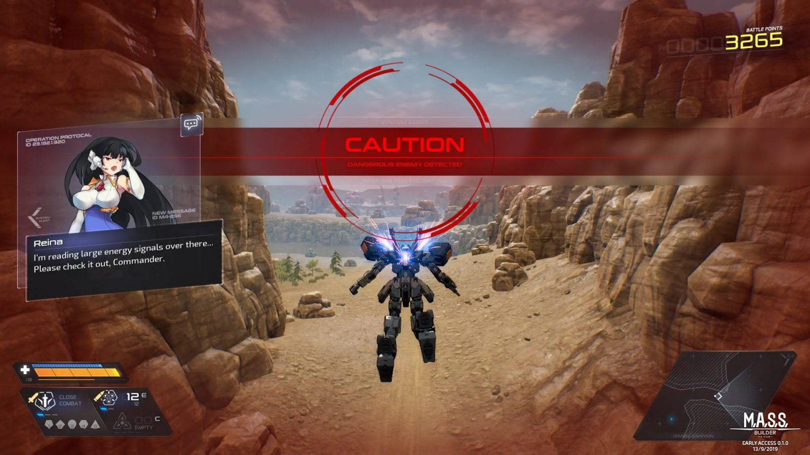 Mecha Action RPG M.A.S.S. Builder Launches September 13