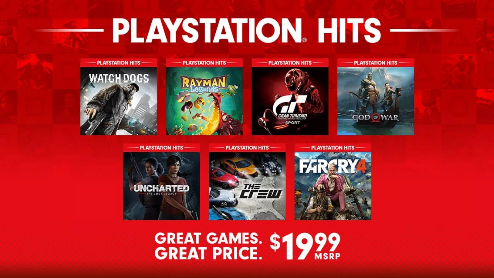 Seven More Games Added to PlayStation Hits Lineup