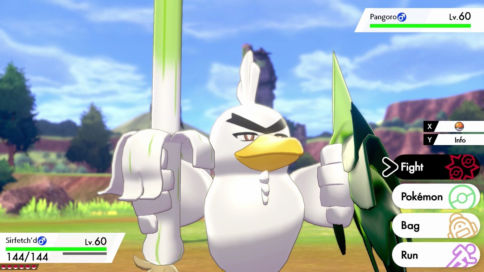 Farfetch'd Evolution Sirfetch'd Revealed for Pokemon Sword and Shield