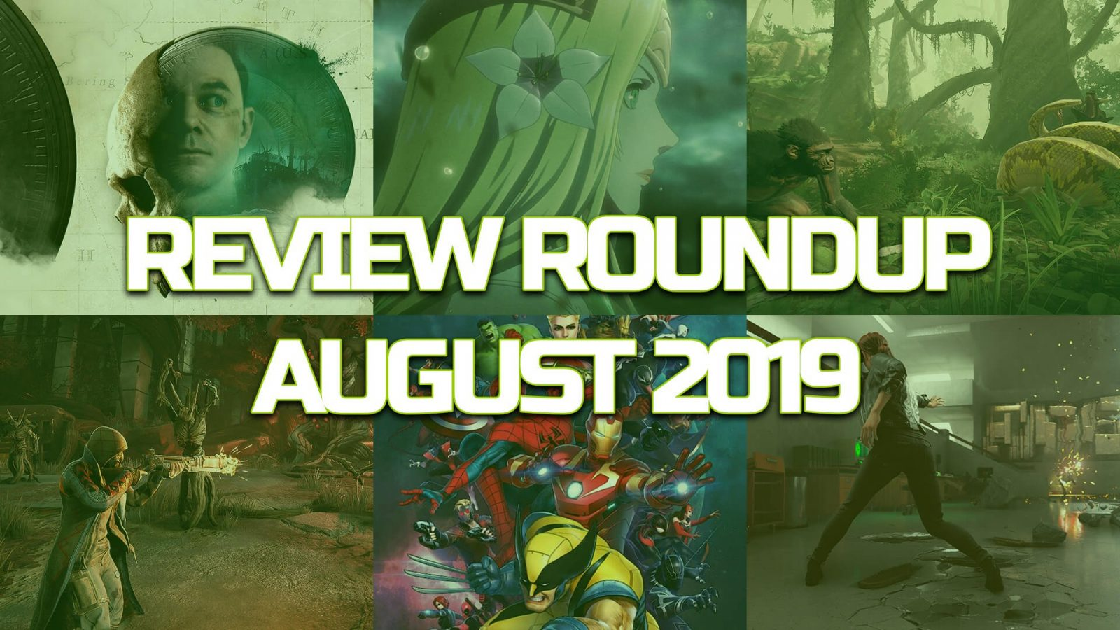 August 2019 Game Review Roundup