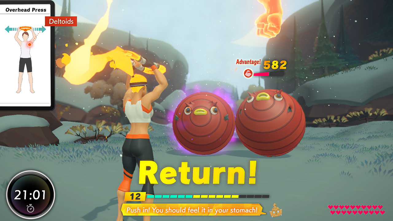 Overview Trailer for Ring Fit Adventure