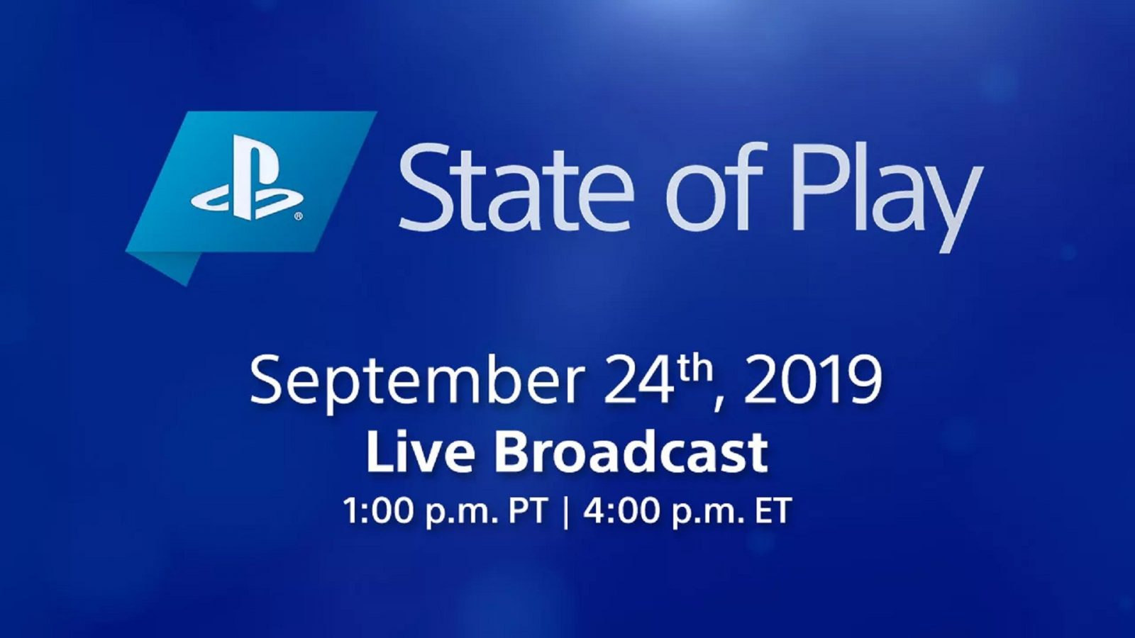 Next PlayStation State of Play Will be on September 24th