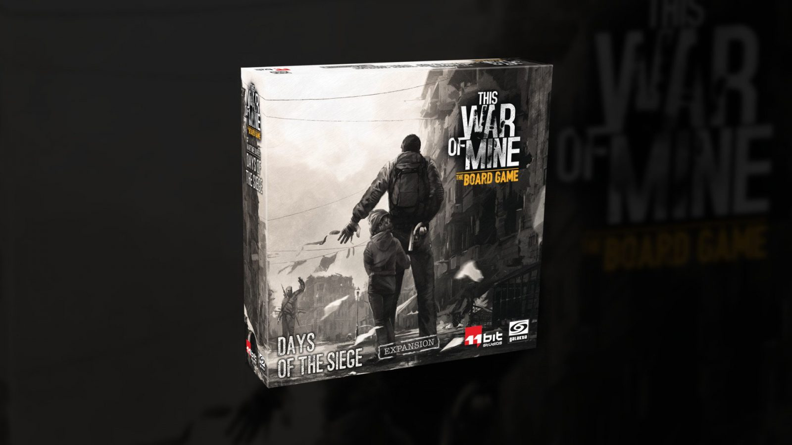 Days of the Siege is the Second Expansion for This War of Mine: The Board Game