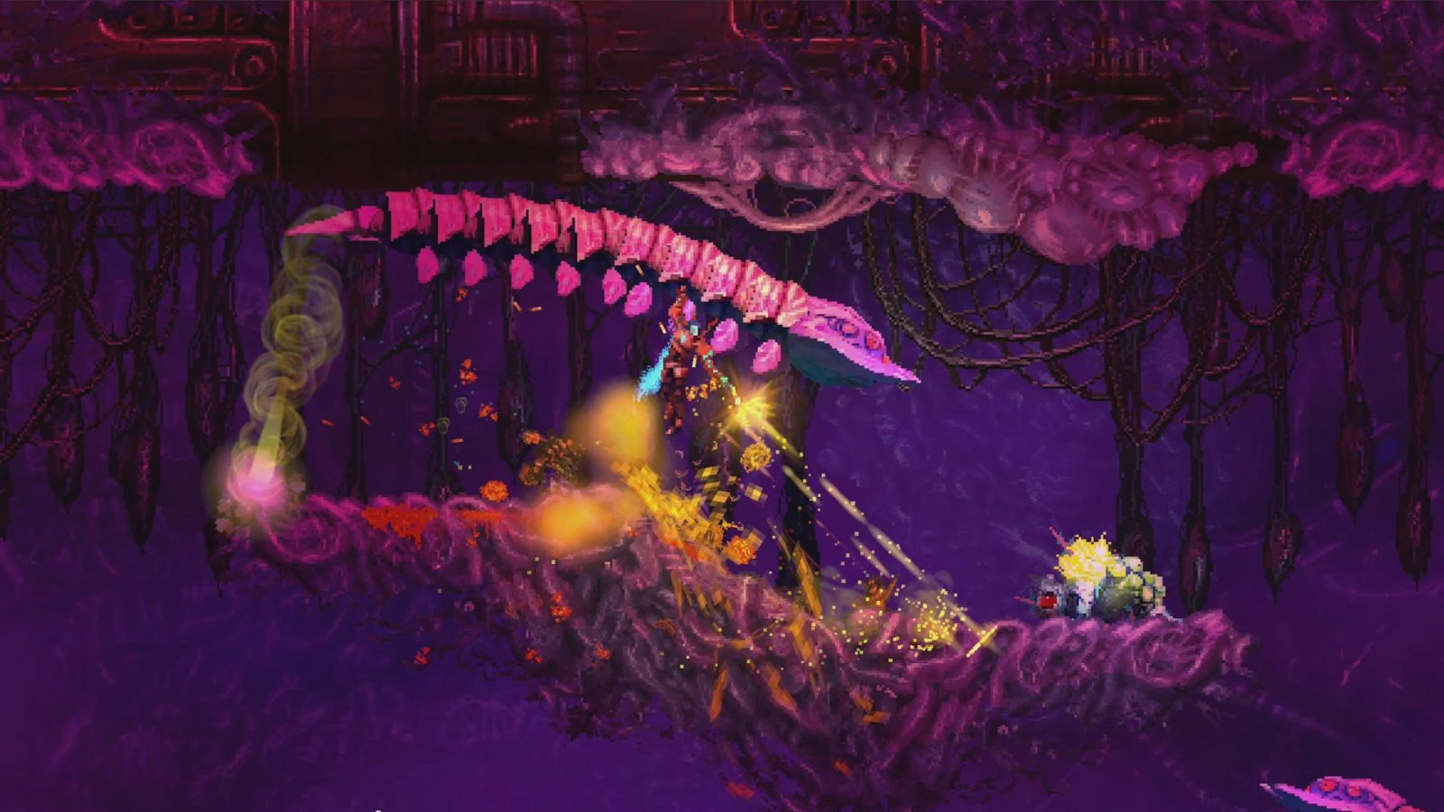 Heavy Metal Platformer Valfaris Coming To PC And Switch In October