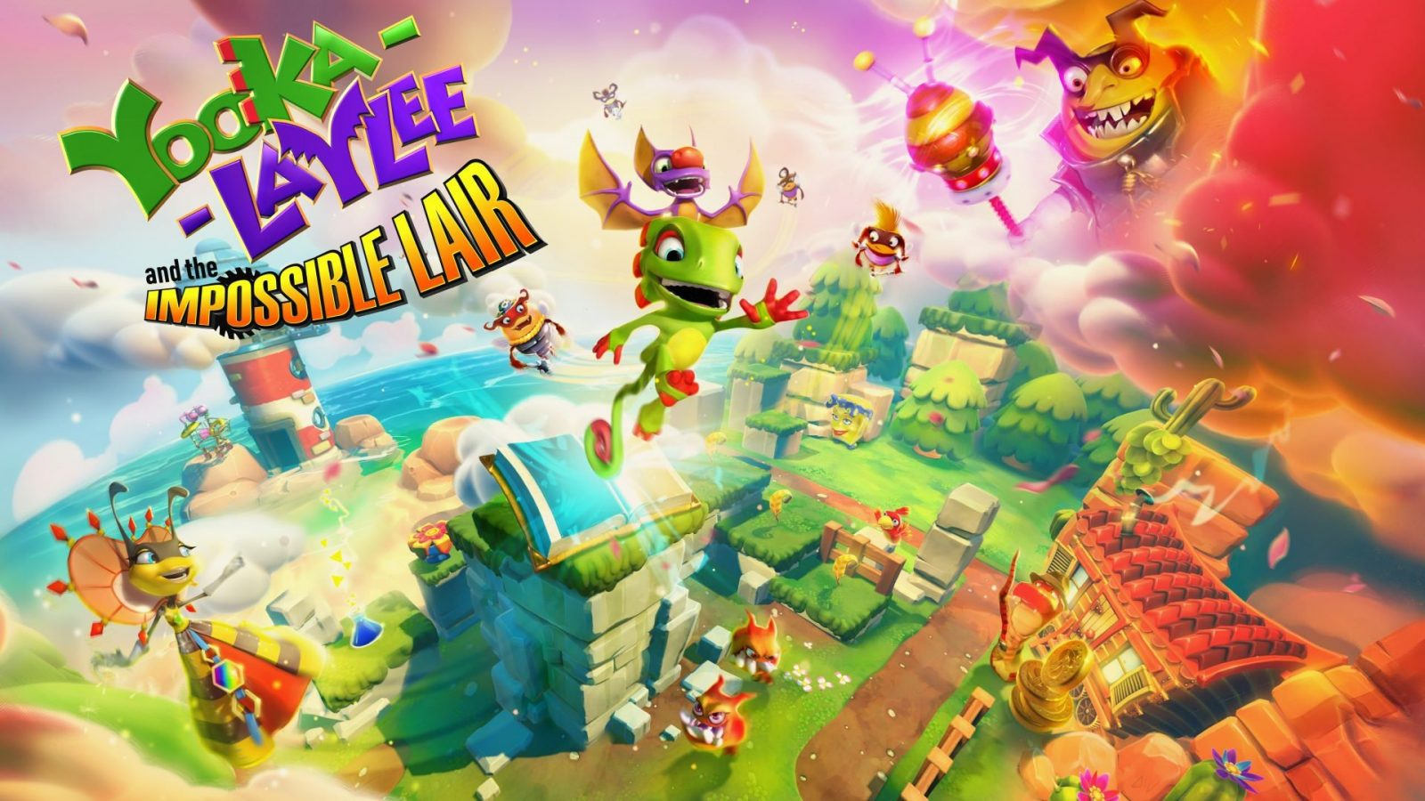 Yooka-Laylee and the Impossible Lair Out This October