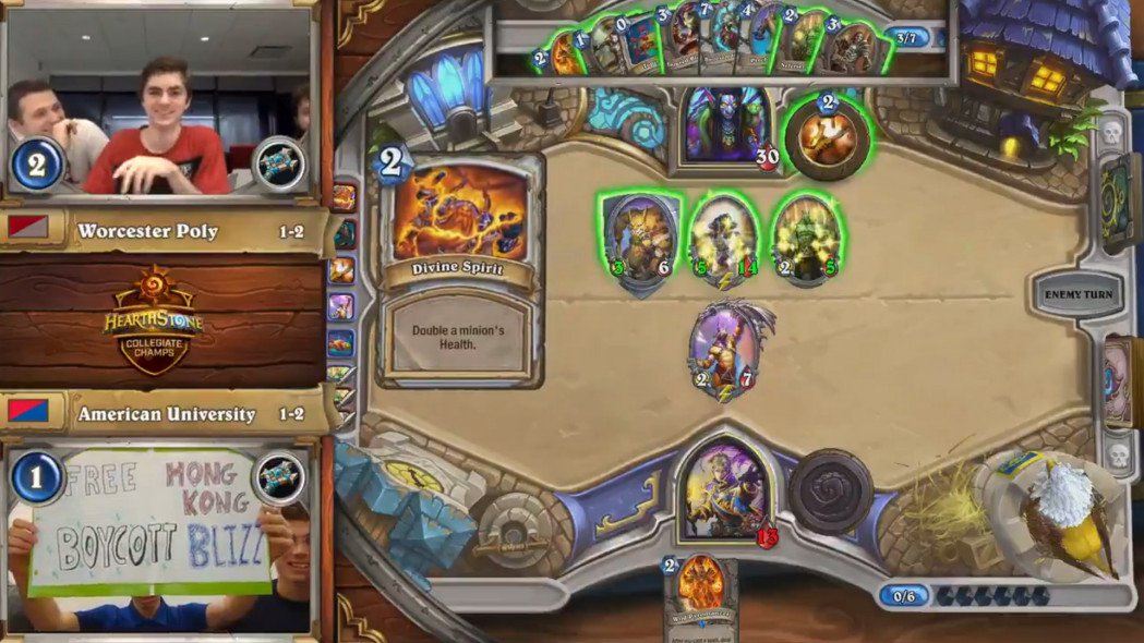 American University Hearthstone Team Forfeits Following Protest