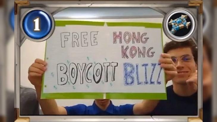 Blizzard Bans Hearthstone Collegiate Team for 6 Months Over Support for Hong Kong Protests
