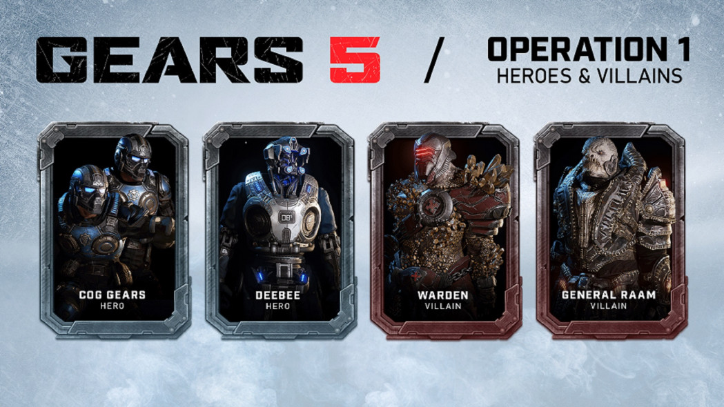 More Terminator Characters Added to Gears 5, Plus Others