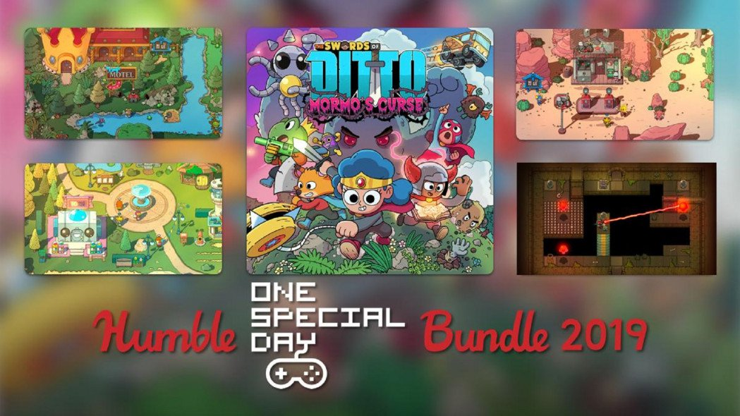 New Humble Bundle is for One Special Day