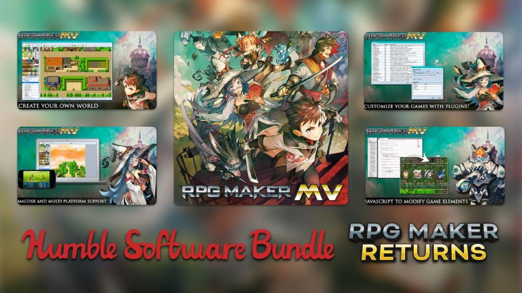 Humble Bundle Offers Up RPG Maker and Add-Ons