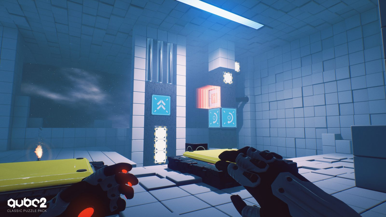 Q.U.B.E. 2's Second Puzzle Pack Now Available