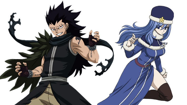Gajeel Redfox and Juvia Lockser Confirmed for Fairy Tail RPG