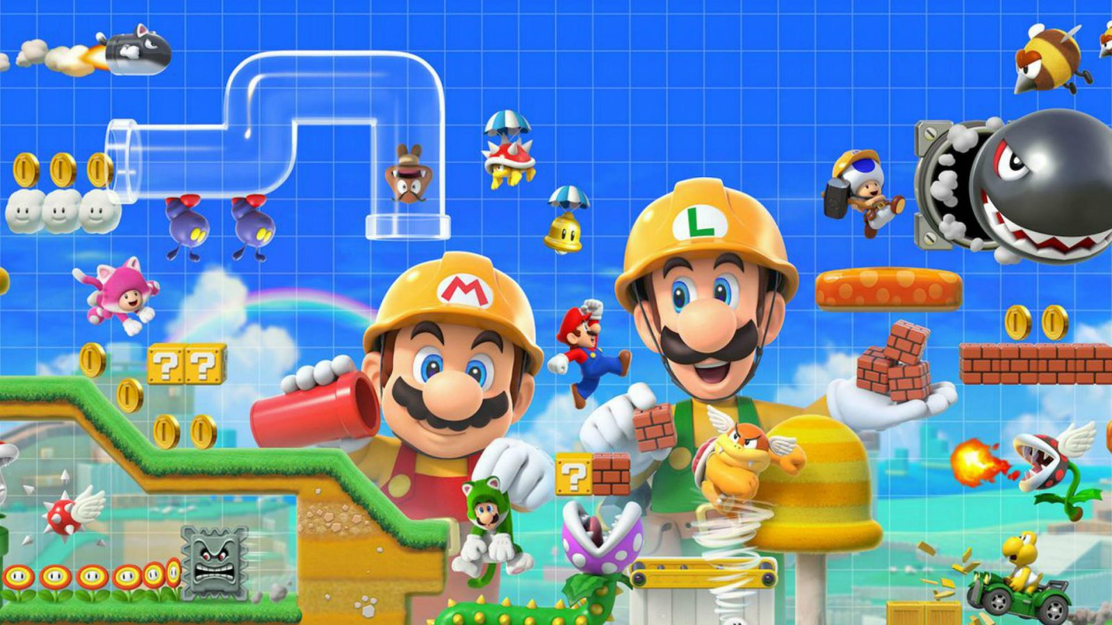 Check Out This Super Mario Maker 2 Course From the Yooka-Laylee Developers