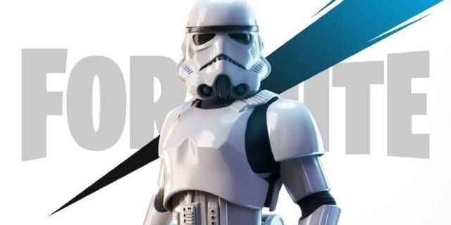 Grab the Stormtrooper Star Wars outfit for a limited time in Fortnite!   Use cod…