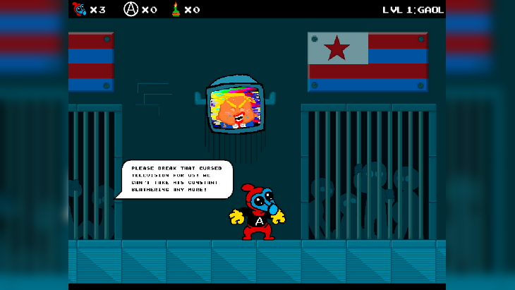 """Super Mario Inspired Antifa Game Lets You Hurl Molotovs and Try to Overthrow """"Humpel Dumpty"""""""