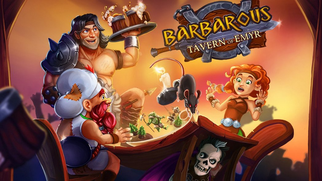 Barbarous: Tavern of Emyr is Coming on Christmas and Serving You Drinks