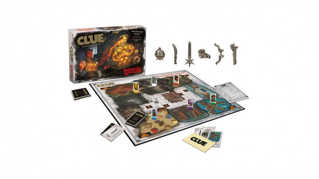 Clue Dungeons & Dragons Creates Magical Mysteries
