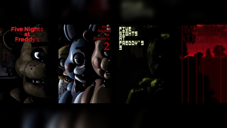 Five Nights at Freddy's 1, 2, 3, and 4 Launch for PS4, Switch, and Xbox One on November 29