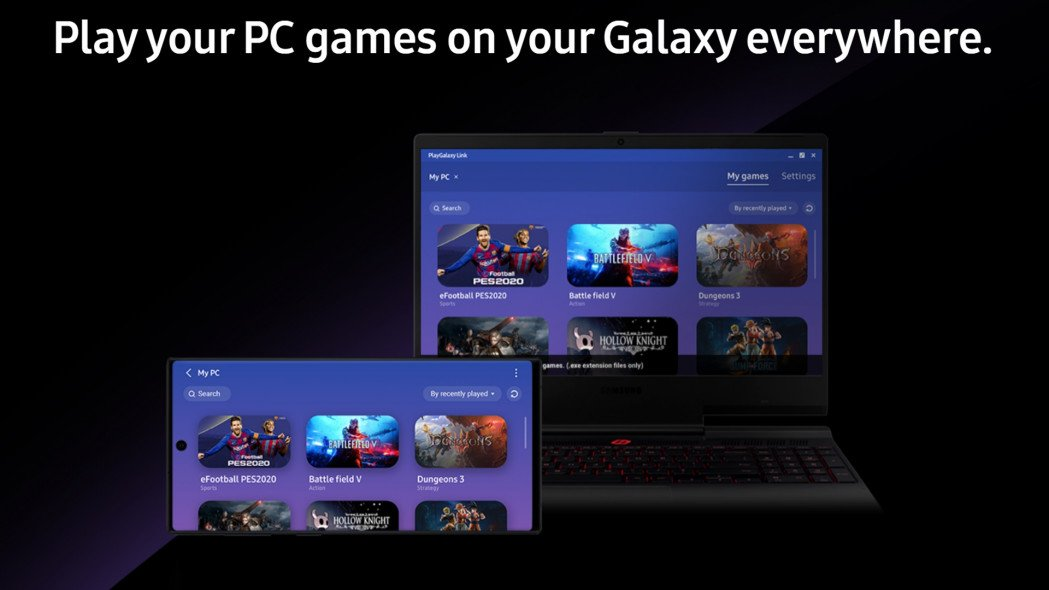 Samsung PlayGalaxy Link Will Let You Stream PC Games To Your Phone
