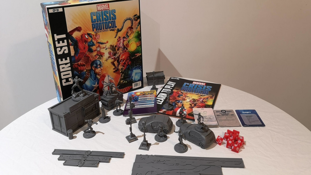Start Collecting Marvel Crisis Protocol – Core Set First Look