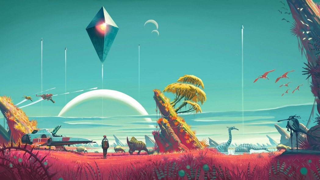 No Man's Sky Synthesis Update Adds Ship Salvaging, Terrain Editing, and More