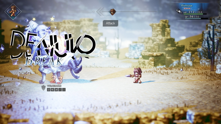 Denuvo Seemingly Removed from Octopath Traveler for Steam