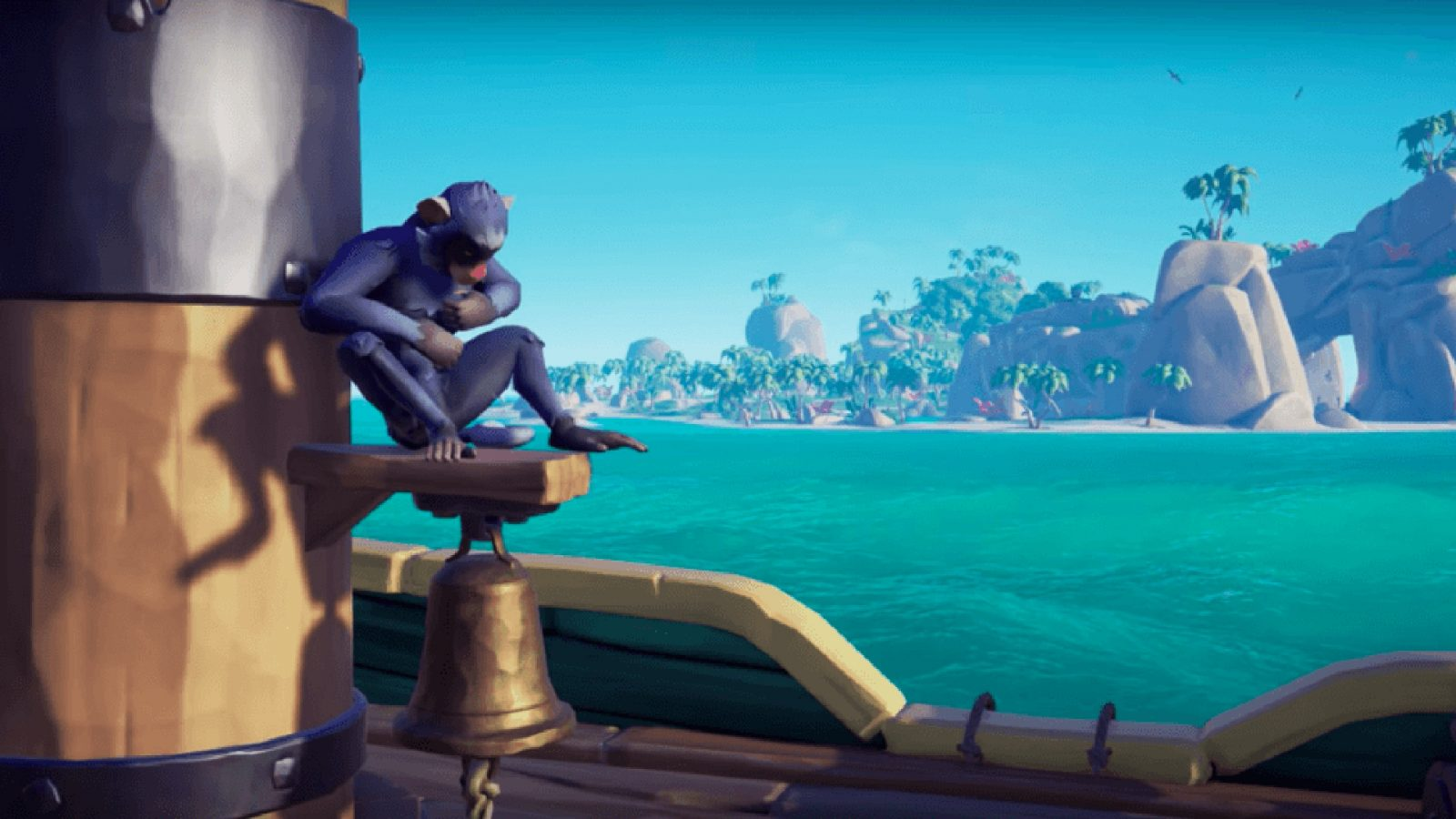 Amazon Prime members can get a special purple monkey in Sea of Thieves