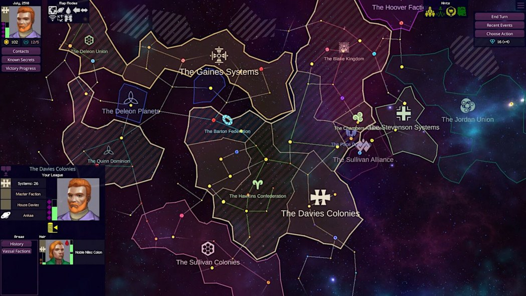Become A Space Lannister In Star Dynasties