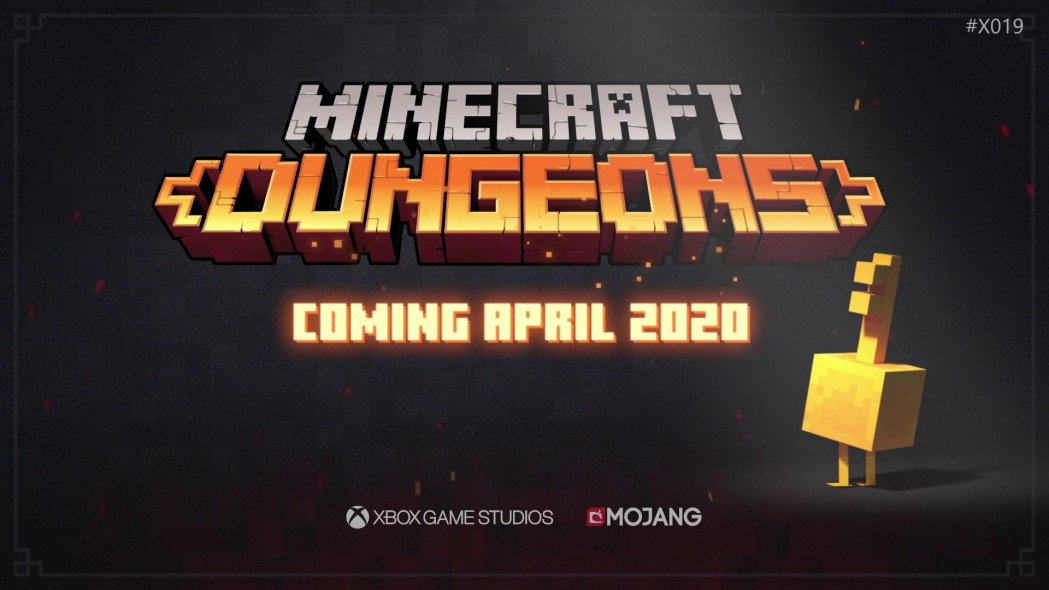 Minecraft: Dungeons Coming in April
