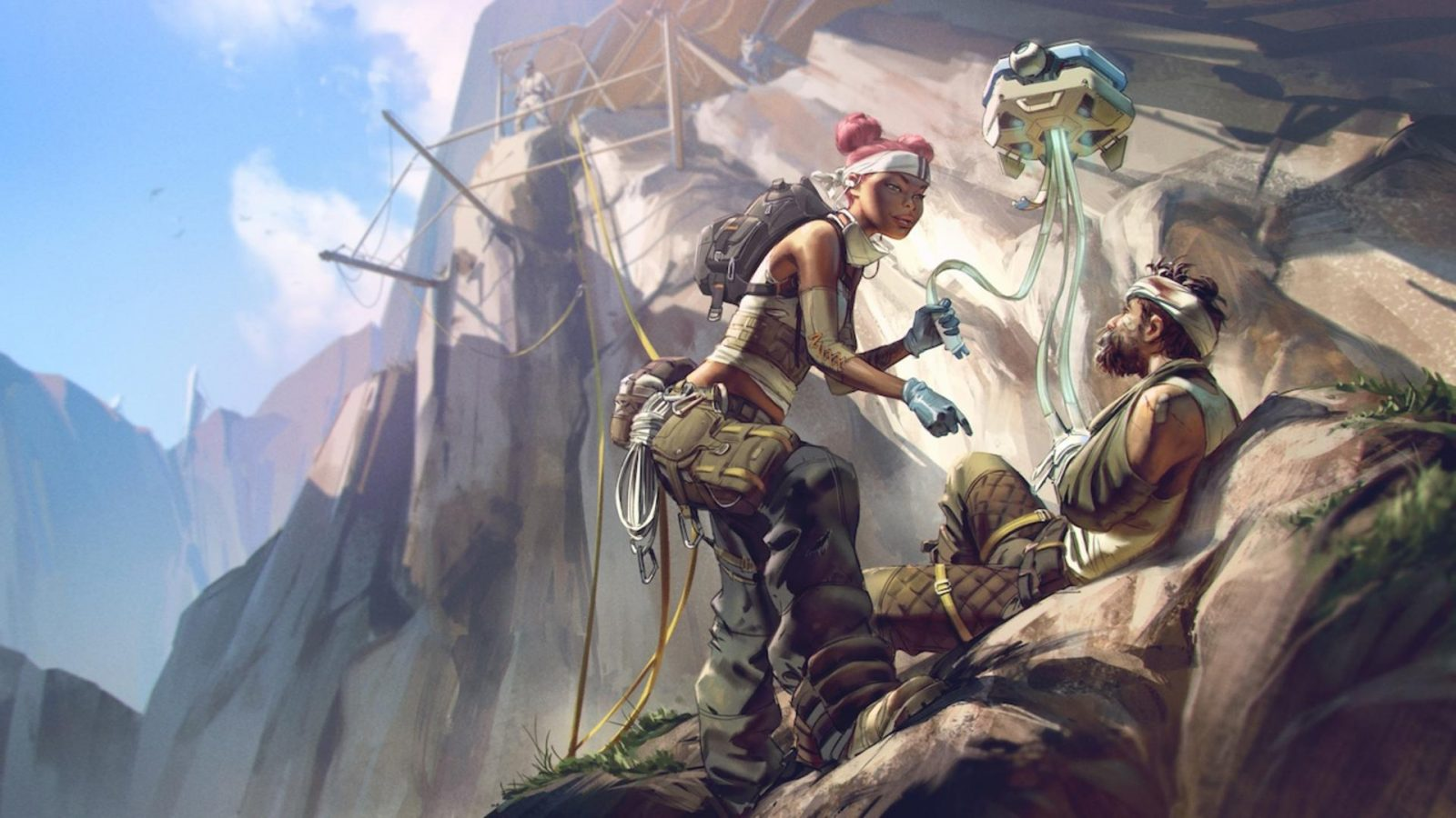 Apex Legends' Dropship Has Become a Fight Club With the Lights Turned Off