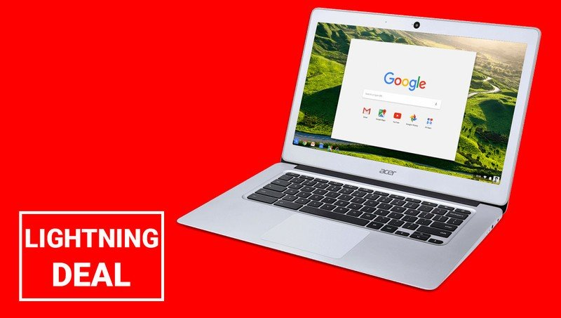 Black Friday Lightning Deal: This Acer Chromebook is just $150 for the next few hours