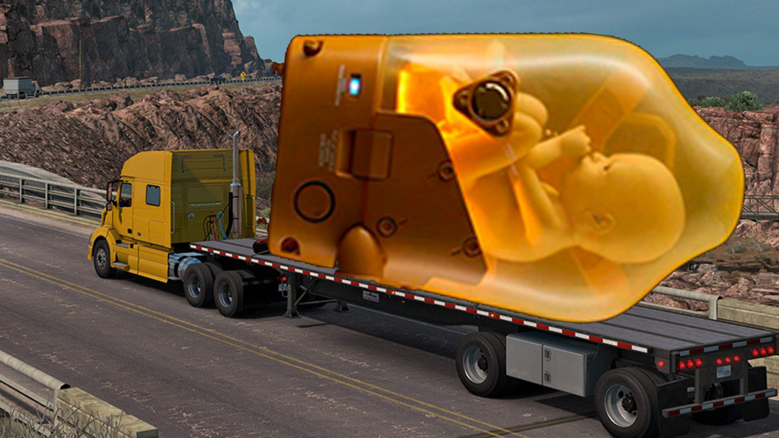 Free games: American Truck Simulator's free weekend will hold you over for Death Stranding