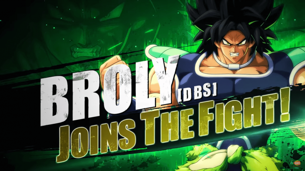 Dragon Ball FighterZ Adds Broly (DBS) On December 5th
