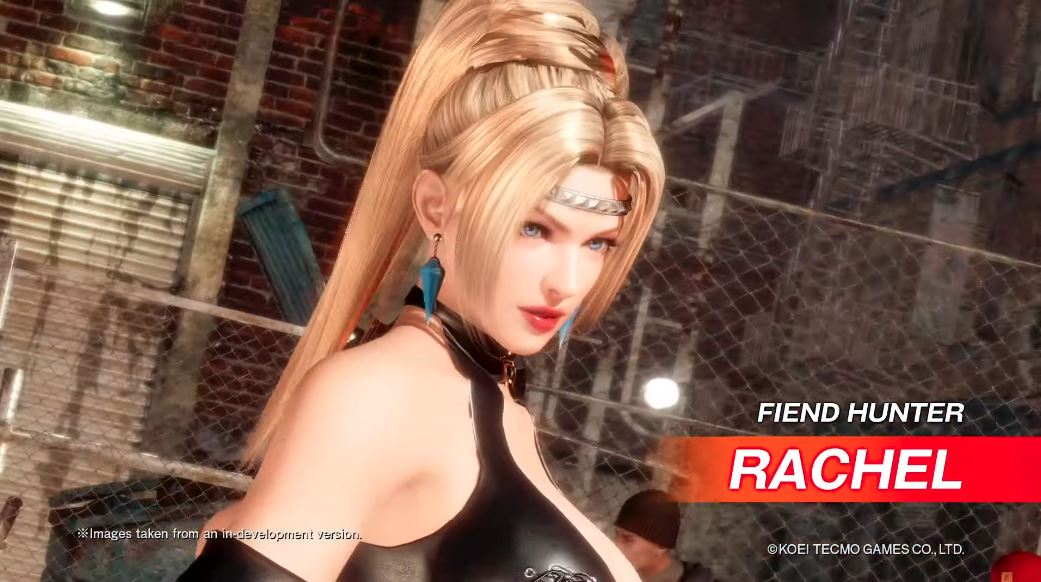 Rachel DLC Character Announced for Dead or Alive 6